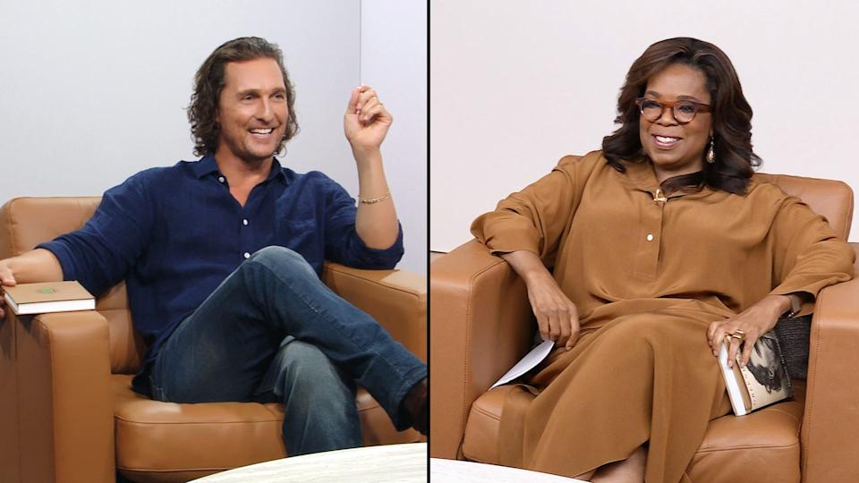 the oprah conversation matthew mcconaughey