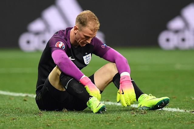 Joe Hart has been told he will not be going to the World Cup