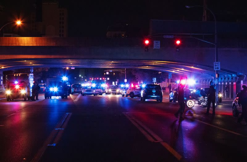 Louisville officer calls for peace after being shot during protests