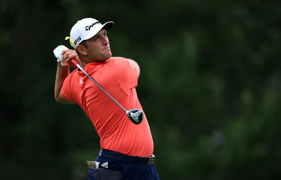 After a dominant win at the Memorial Tournament on Sunday, Jon Rahm jumped Rory McIlroy to claim the top spot in the World Golf Rankings.