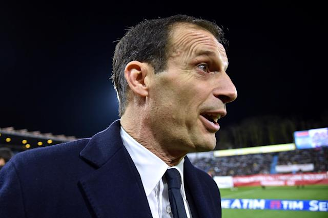 Soccer Football - Serie A - SPAL vs Juventus - Paolo Mazza, Ferrara, Italy - March 17, 2018 Juventus coach Massimiliano Allegri after the match REUTERS/Alberto Lingria