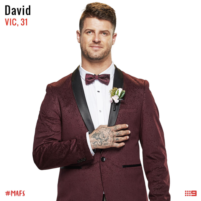married at first sight groom david