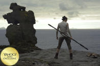 """<p>Is it <em>really</em> time for the Jedi to end? That's the main question going into <a rel=""""nofollow"""" href=""""https://www.yahoo.com/movies/film/star-wars-the-last-jedi"""" data-ylk=""""slk:Episode VIII"""" class=""""link rapid-noclick-resp""""><em>Episode VIII</em> </a>as <a rel=""""nofollow"""" href=""""https://www.yahoo.com/movies/tagged/rey"""" data-ylk=""""slk:Rey"""" class=""""link rapid-noclick-resp"""">Rey</a> meets a reluctant <a rel=""""nofollow"""" href=""""https://www.yahoo.com/movies/tagged/luke-skywalker"""" data-ylk=""""slk:Luke"""" class=""""link rapid-noclick-resp"""">Luke</a>; <a rel=""""nofollow"""" href=""""https://www.yahoo.com/movies/tagged/kylo-ren"""" data-ylk=""""slk:Kylo"""" class=""""link rapid-noclick-resp"""">Kylo</a> and Snoke plot revenge; Finn and Poe embark on new adventures … and we prepare to bid a teary farewell to <a rel=""""nofollow"""" href=""""https://www.yahoo.com/movies/tagged/princess-leia"""" data-ylk=""""slk:Princess Leia"""" class=""""link rapid-noclick-resp"""">Princess Leia</a>. 
