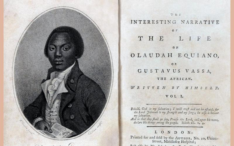 The autobiography of Olaudah Equiano (c. 1745 - 31 March 1797) also known as Gustavus Vassa, prominent African involved in the British movement for the abolition of the slave trade. - Photo 12