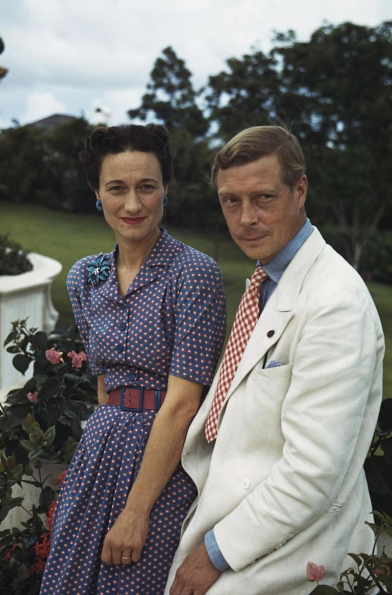 Edward VIII abdicated so he could be with American socialite and divorcee Wallis Simpson. Photo: Getty Images