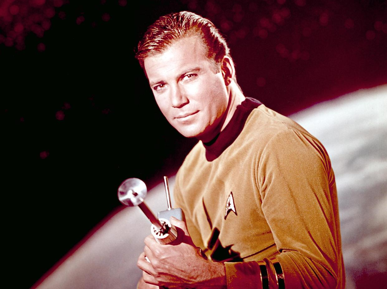 William Shatner made his debut as Captain James T. Kirk 55 years ago with the premiere of Star Trek: The Original Series (Photo: Paramount/Courtesy Everett Collection)