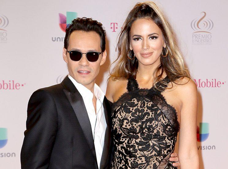 Jennifer Lopez And Marc Anthony Reunite At Latin Grammys
