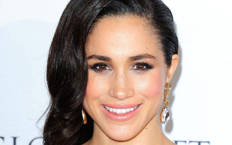 <i>Meghan Markle predictably avoided the question when asked if she had plans to marry Prince Harry [Photo: Getty]</i>