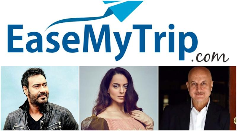 Vocal for Local: Ajay Devgn, Kangana Ranaut and Other Celebs Extend their Support to EaseMyTrip, a Completely Indian Initiative