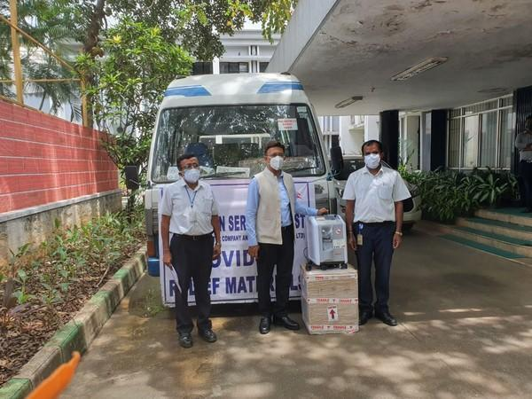 Oxygen concentrators sponsored to BBMP (Photo/ANI)