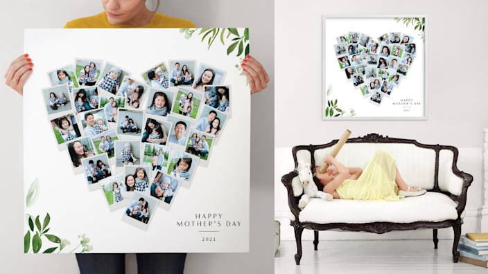 Best gifts for mom: Photo collage