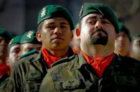 A Spanish soldier crying during the funeral of a Colombian ally killed in Afghanistan is one face of the modern Spanish army