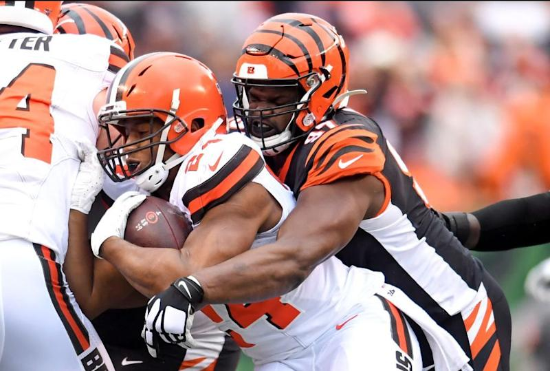 Bengals rule out Geno Atkins