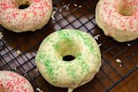 "<div class=""caption-credit""> Photo by: Oishii Treats</div><div class=""caption-title"">Double Dipped Eggnog-Glazed Baked Donuts</div>When you don't want to down another glass of eggnog but still have a craving for its rich holiday flavor, these donuts will be waiting for you. <br> <br> <b>Recipe: <a href=""http://oishiitreats.blogspot.jp/2012/12/double-dipped-eggnog-glazed-baked-donuts.html#"" rel=""nofollow noopener"" target=""_blank"" data-ylk=""slk:Double Dipped Eggnog-Glazed Baked Donuts"" class=""link rapid-noclick-resp"">Double Dipped Eggnog-Glazed Baked Donuts</a></b> <br>"
