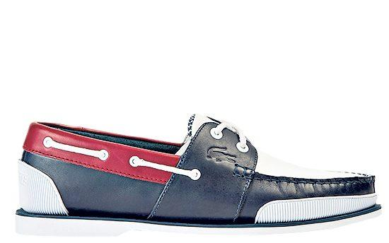 Nautic supple leather boat shoes