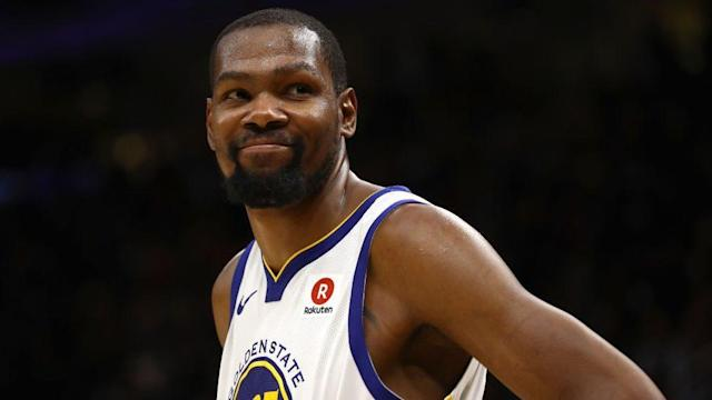 Durant's father wasn't always around when he was young, but the two have since reconciled.