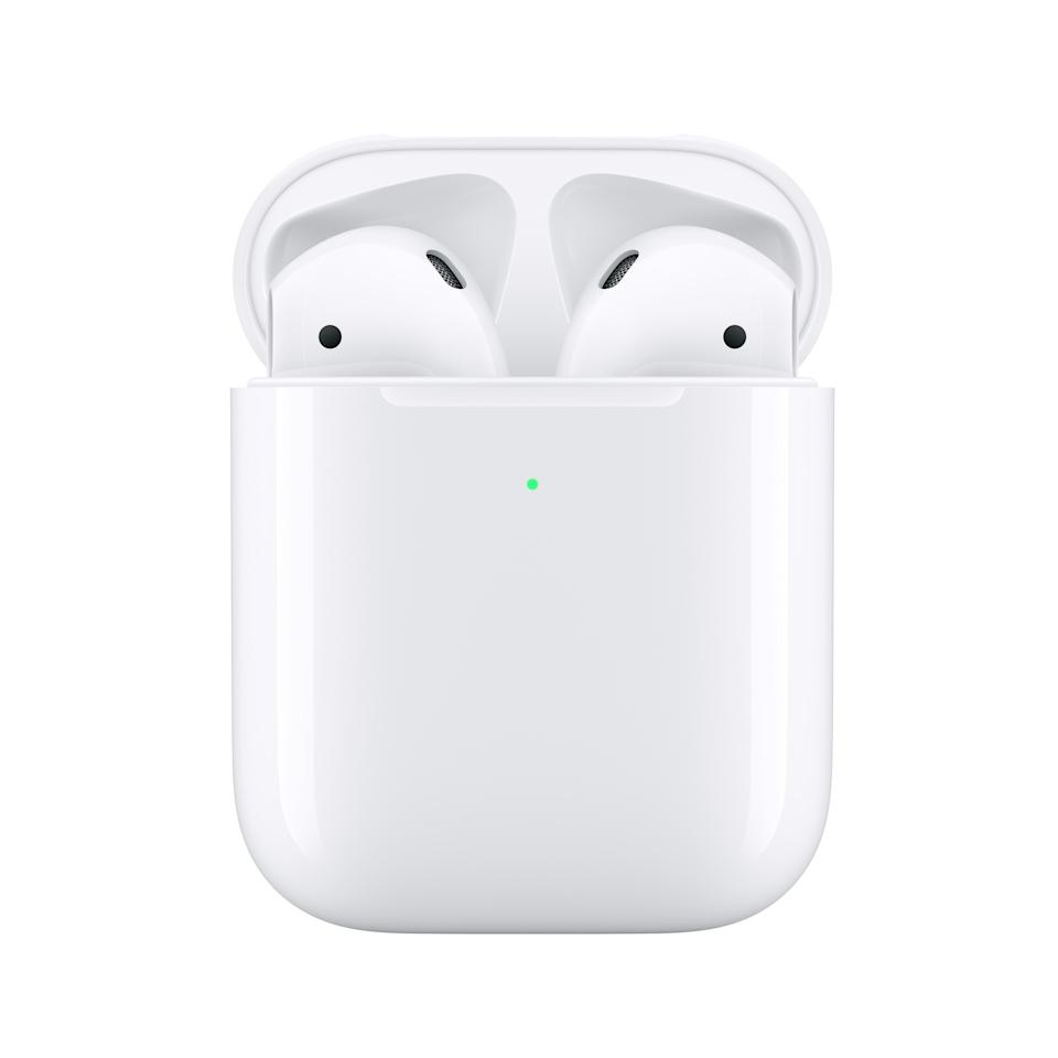 Apple Airpods 2 with a wireless charging case