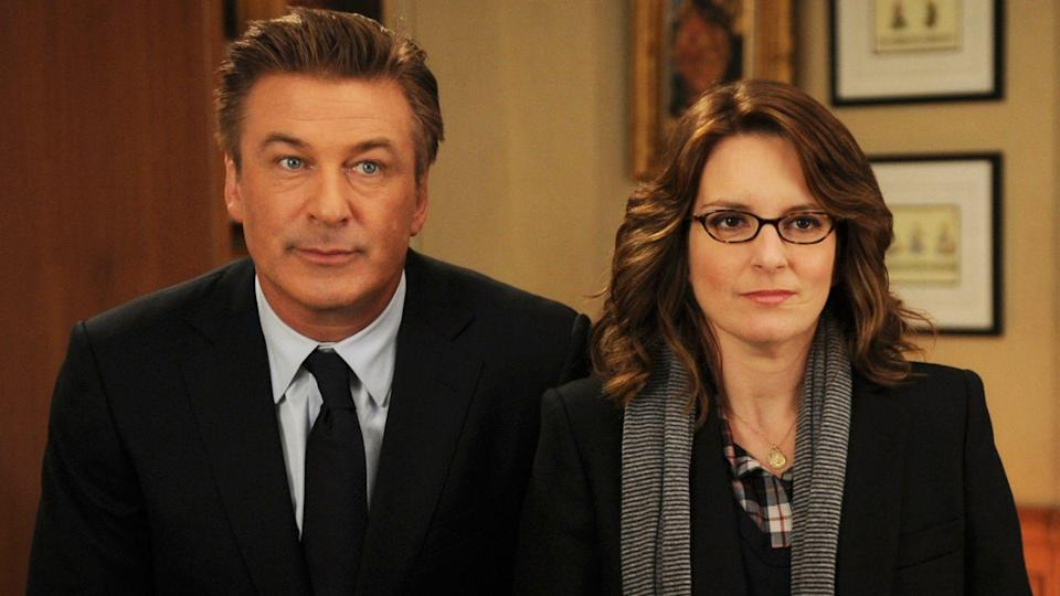 <p> <strong>Years: </strong>2006 – 2013 </p> <p> Saturday Night Live veteran Tina Fey writes what she knows in this surreal sitcom set behind the scenes of a dysfunctional TV show. Gifting herself the plum role of showrunner Liz Lemon, Fey surrounds herself with great characters, from mad-as-a-box-of-hammers leading man Tracy Jordan (Tracy Morgan), to Alec Baldwin's Republican poster boy Jack Donaghy. In a world of monstrous egos, 30 Rock never loses sight of its human side. <em>RE</em> </p>