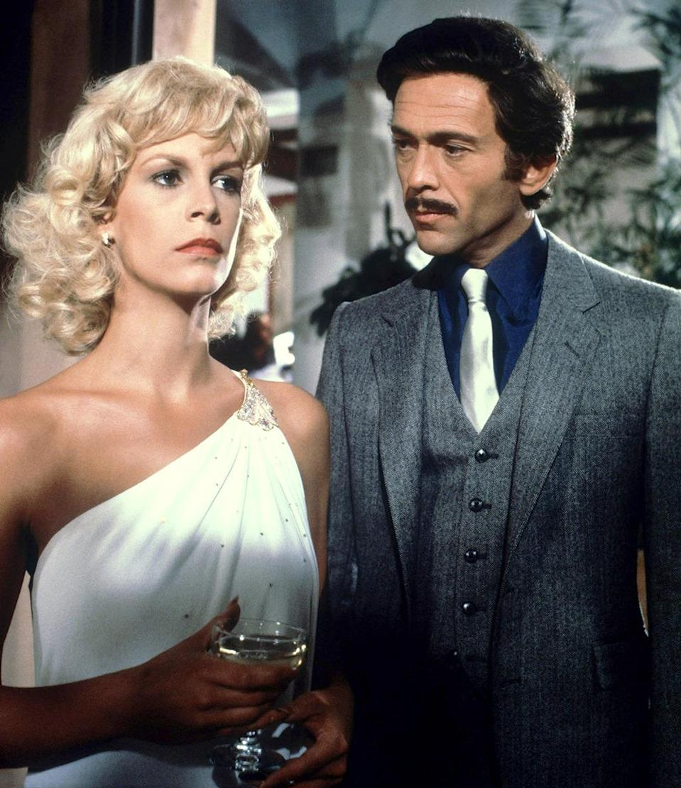 <p><b>Aired:</b> November 1, 1981 on NBC<br><b>Stars</b>: Jamie Lee Curtis, Bruce Weitz, and Robert Reed<br><br><b>Ripped from the headlines about:</b> Dorothy Stratten (Curtis), the 1980 Playboy Playmate of the Year who was murdered by her controlling, estranged husband, Paul Snider (Weitz) in 1980. After shooting his 20-year-old wife, Snider completed the tragedy by turning the gun on himself. Odd footnote: After leaving Snider, Stratten began dating director Peter Bogdanovich; eight years after Dorothy's death, Bogdanovich married her then-20-year-old sister, Louise. <br><br><i>(Credit: Everett Collection)</i> </p>