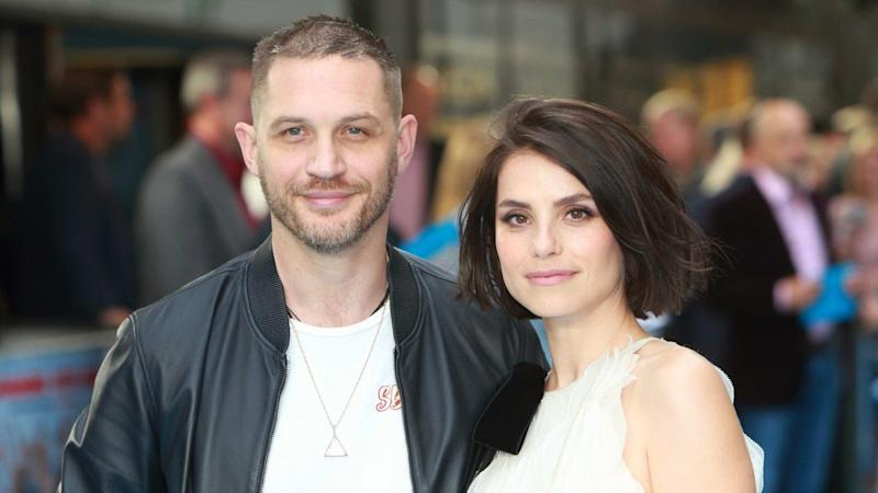 5a3087f86 Tom Hardy Welcomes Second Child With Wife Charlotte Riley