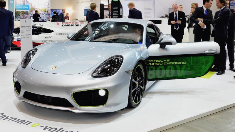 2017 Porsche Cayman e-volution Concept