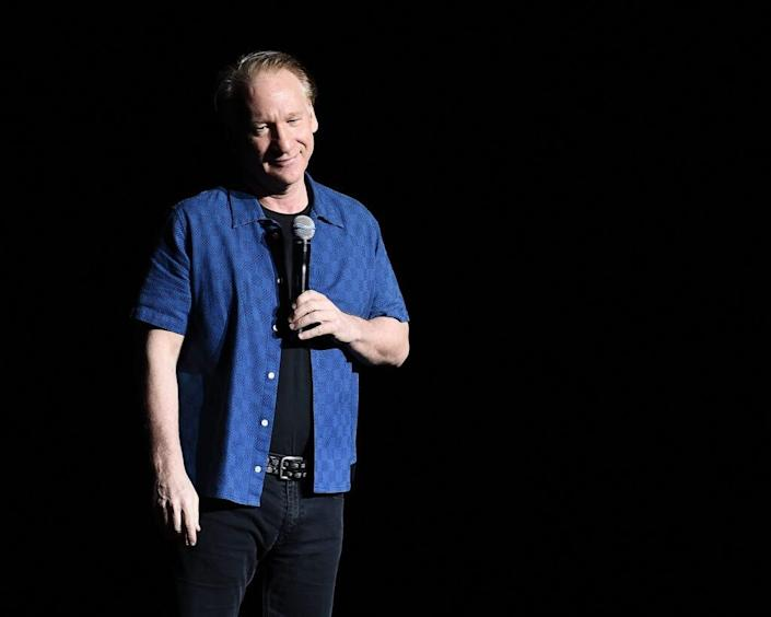 Bill Maher Performs During New York Comedy Festival at The Theater at Madison Square Garden on November 5, 2016 in New York City. (Photo by Nicholas Hunt/Getty Images)