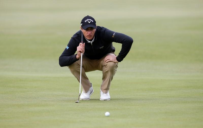 Golf: Colsaerts leads French Open by three shots