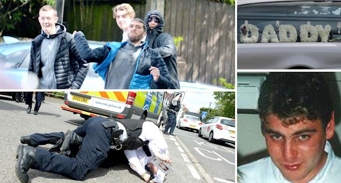 <em>Taxpayers' money – the funeral of career criminal Henry Vincent reportedly cost £15,000 (Pictures: SWNS/PA)</em>