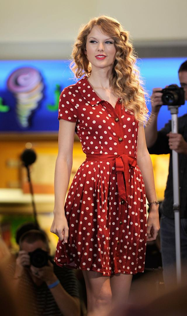 Onstage prior to her live performance for JetBlue Airways at JFK Airport on Oct. 27, 2010 in New York City.