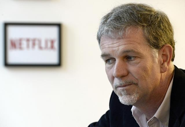 Netflix CEO Reed Hastings, whose company won't get new Disney movies in a couple years.