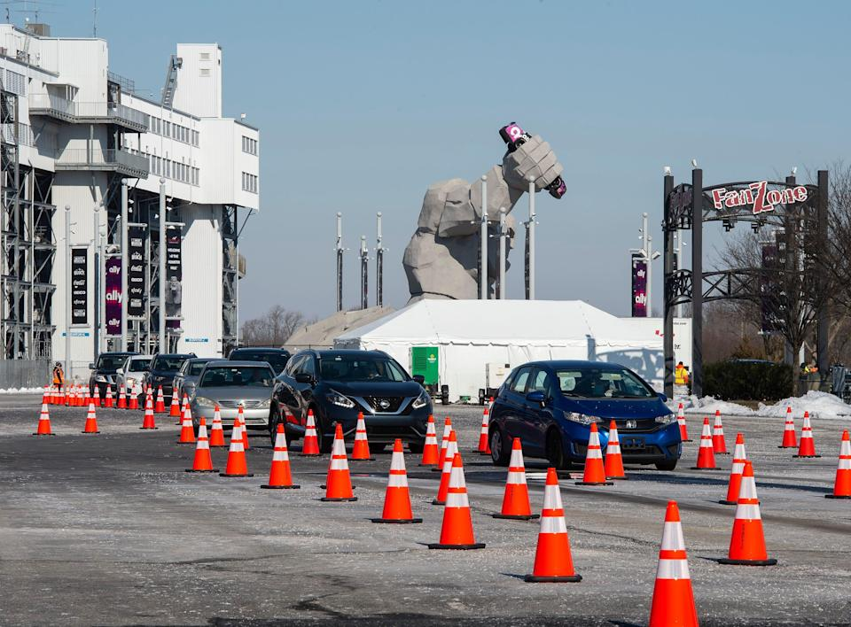 The Delaware State News reported Dover International Speedway is holding a drive-thru vaccination event on Friday, Saturday and Sunday.