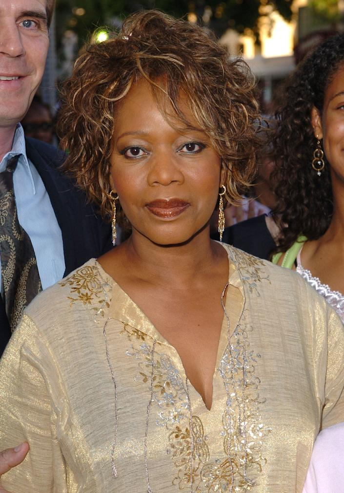 Alfre Woodard during 'Star Wars: Episode III - Revenge of The Sith' Premiere to Benefit Artists for a New South Africa Charity - Arrivals at Mann's Village Theater in Westwood, CA, United States. (Photo by SGranitz/WireImage)