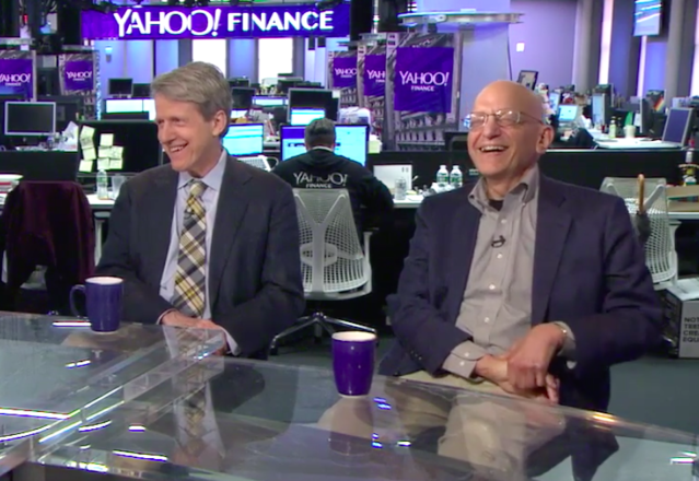 Robert Shiller and Jeremy Siegel visited Yahoo Finance for a rare joint interview.