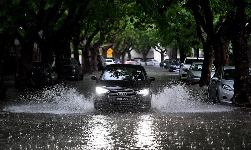 Victoria storms: Flash floods in parts of outer metropolitan Melbourne caused havoc.