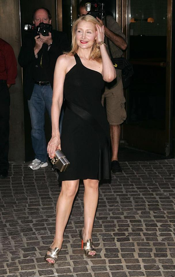 """<a href=""""http://movies.yahoo.com/movie/contributor/1800022307"""">Patricia Clarkson</a> at the New York City Premiere of <a href=""""http://movies.yahoo.com/movie/1809860441/info"""">Elegy</a> - 08/05/2008"""
