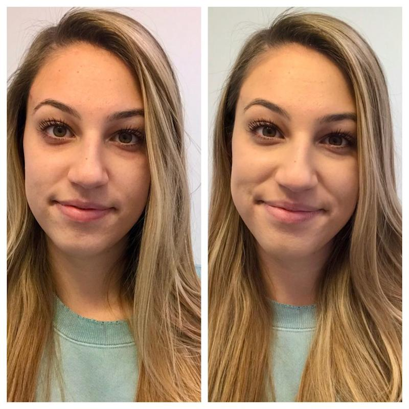 Before & After Garnier Miracle Skin Perfector BB Cream