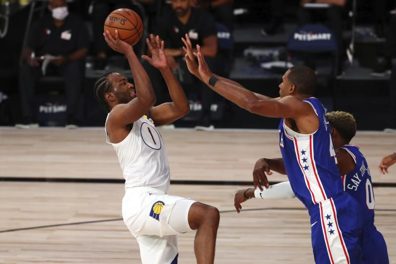 Warren scores career-high 53 as Pacers beat 76ers 127-121