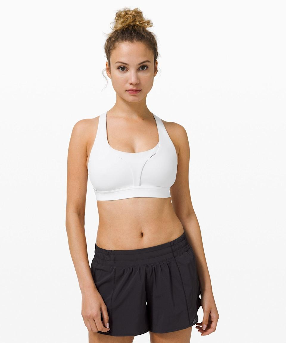 """<p><strong>Lululemon</strong></p><p>lululemon.com</p><p><a href=""""https://go.redirectingat.com?id=74968X1596630&url=https%3A%2F%2Fshop.lululemon.com%2Fp%2Fwomen-sports-bras%2FStash-It-All-Bra-MD%2F_%2Fprod9920165&sref=https%3A%2F%2Fwww.seventeen.com%2Ffashion%2Fg34017122%2Flululemon-sale-we-made-too-much%2F"""" rel=""""nofollow noopener"""" target=""""_blank"""" data-ylk=""""slk:Shop Now"""" class=""""link rapid-noclick-resp"""">Shop Now</a></p><p><strong><del><strong>$</strong>68</del> $39 (48% off)</strong></p><p>Since wearing anything with underwire is totally out of the question, now's the time to buy sports bras in bulk. Lululemon's <a href=""""https://go.redirectingat.com?id=74968X1596630&url=https%3A%2F%2Fshop.lululemon.com%2Fp%2Fwomen-sports-bras%2FStash-It-All-Bra-MD%2F_%2Fprod9920165&sref=https%3A%2F%2Fwww.seventeen.com%2Ffashion%2Fg34017122%2Flululemon-sale-we-made-too-much%2F"""" rel=""""nofollow noopener"""" target=""""_blank"""" data-ylk=""""slk:Stash It All bra"""" class=""""link rapid-noclick-resp"""">Stash It All bra</a> is supportive without being constricting. </p>"""