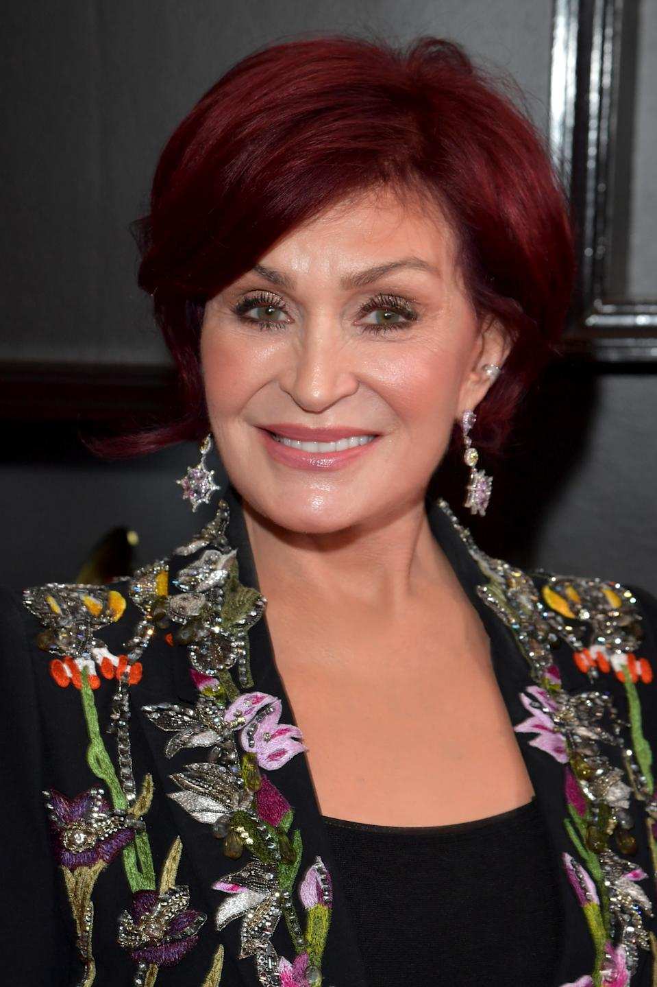 Sharon Osbourne attends the 62nd Annual GRAMMY Awards at STAPLES Center on January 26, 2020 in Los Angeles, California. (Photo by Lester Cohen/Getty Images for The Recording Academy)