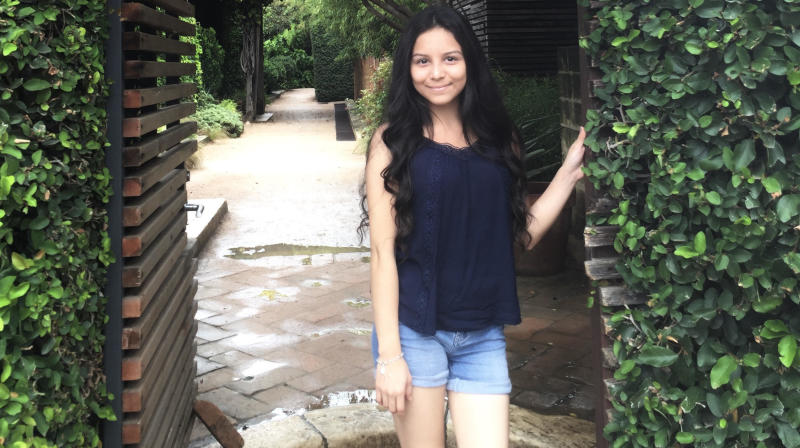 Marlin Leal, 21, was with her parents, 17-year-old sister and 12-year-old brother this past Saturday night as water started streaming into their home in southeast Houston ― an area devastated by historic rainfall and flooding in the wake of Hurricane Harvey.