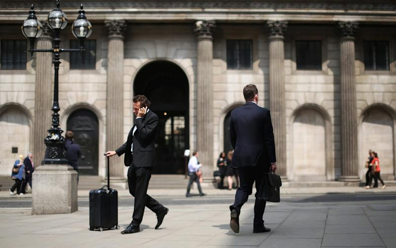 The Bank of England is expected to hold interest rates - Chris Ratcliffe/Bloomberg