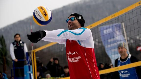 "<p>The average temperature Pyeongchang right now is 23° F (-5 °C), but some athletes still thought it the perfect time for a spot of... beach volleyball?</p> <p>On Valentine's Day, a snow volleyball match took place outside the Austrian Olympic team's lodgings at the Pyeongchang Winter Olympics.</p> <div><p>SEE ALSO: <a href=""https://mashable.com/2018/02/13/matthias-mayer-crash-olympics/?utm_campaign=Mash-BD-Synd-Yahoo-Watercooler-Full&utm_cid=Mash-BD-Synd-Yahoo-Watercooler-Full"" rel=""nofollow noopener"" target=""_blank"" data-ylk=""slk:Olympic Austrian skier dramatically crashes into cameraman"" class=""link rapid-noclick-resp"">Olympic Austrian skier dramatically crashes into cameraman</a></p></div> <p>According to <a href=""https://www.reuters.com/article/us-olympics-2018-snow-volleyball/swapping-sand-for-snow-volleyball-eyes-winter-games-slot-idUSKCN1FY1VT"" rel=""nofollow noopener"" target=""_blank"" data-ylk=""slk:Reuters"" class=""link rapid-noclick-resp"">Reuters</a>, Wednesday's exhibition match, which featured volleyball players from South Korea, Austria, China, Brazil and Serbia was meant to showcase a sport hoped by organisers to be added to the Winter Olympics. Beach volleyball has been included in the Summer Olympics since Atlanta 1996.</p>  <p>Hardcore.</p><div><p>Image: Sergei Bobylev\TASS via Getty Images</p></div><p>""We can show the world it's possible,"" Brazilian beach volleyball player and gold medallist Emanuel Rego told Reuters. ""It doesn't matter if it's a little bit cold or a little bit hot, you can play volleyball anywhere.""</p> <div><div><blockquote> <p>I gotta say, snow volleyball looks pretty exciting. <a href=""https://t.co/Ane4PHcpzu"" rel=""nofollow noopener"" target=""_blank"" data-ylk=""slk:pic.twitter.com/Ane4PHcpzu"" class=""link rapid-noclick-resp"">pic.twitter.com/Ane4PHcpzu</a></p> <p>— 장동우 Chang Dong-woo (@odissy) <a href=""https://twitter.com/odissy/status/963673146296602626?ref_src=twsrc%5Etfw"" rel=""nofollow noopener"" target=""_blank"" data-ylk=""slk:February 14, 2018"" class=""link rapid-noclick-resp"">February 14, 2018</a></p> </blockquote></div></div> <p>Quite a crowd turned up to the exhibition match, getting into the spirit of things by having a go themselves.</p> <div><div><blockquote> <p>Decent scene here <a href=""https://t.co/fVMDrN0EJz"" rel=""nofollow noopener"" target=""_blank"" data-ylk=""slk:pic.twitter.com/fVMDrN0EJz"" class=""link rapid-noclick-resp"">pic.twitter.com/fVMDrN0EJz</a></p> <p>— Jay Busbee (@jaybusbee) <a href=""https://twitter.com/jaybusbee/status/963669826769211392?ref_src=twsrc%5Etfw"" rel=""nofollow noopener"" target=""_blank"" data-ylk=""slk:February 14, 2018"" class=""link rapid-noclick-resp"">February 14, 2018</a></p> </blockquote></div></div> <p>Could happen? With the first ever <a href=""http://www.snowvolleyball.at/"" rel=""nofollow noopener"" target=""_blank"" data-ylk=""slk:Snow Volleyball European Championships"" class=""link rapid-noclick-resp"">Snow Volleyball European Championships</a> coming up in March, the campaign could gain some traction.</p> <div> <h2><a href=""https://mashable.com/2018/02/14/led-snowboard/?utm_campaign=Mash-BD-Synd-Yahoo-Watercooler-Full&utm_cid=Mash-BD-Synd-Yahoo-Watercooler-Full"" rel=""nofollow noopener"" target=""_blank"" data-ylk=""slk:WATCH: Light up the slopes with this LED snowboard"" class=""link rapid-noclick-resp"">WATCH: Light up the slopes with this LED snowboard</a></h2>  </div>"