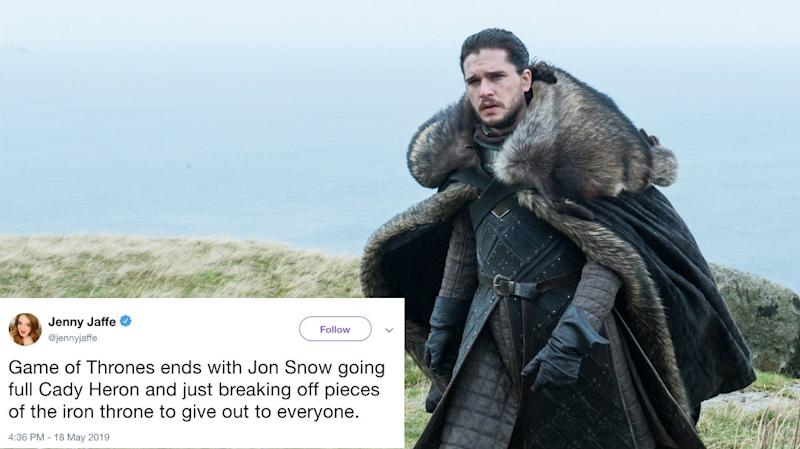 Twitter's Predicting How   Game of Thrones Will End, and the Theories Are So Funny