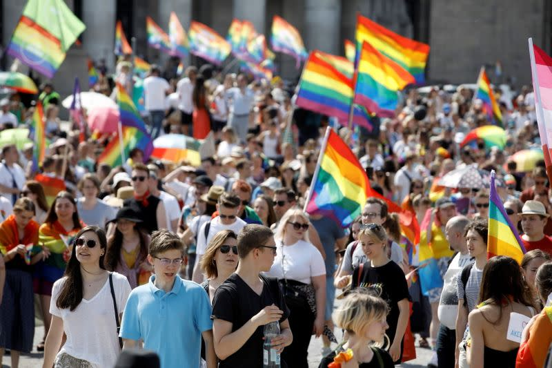 """""""Equality Parade"""" rally in support of the LGBT community, in Warsaw"""