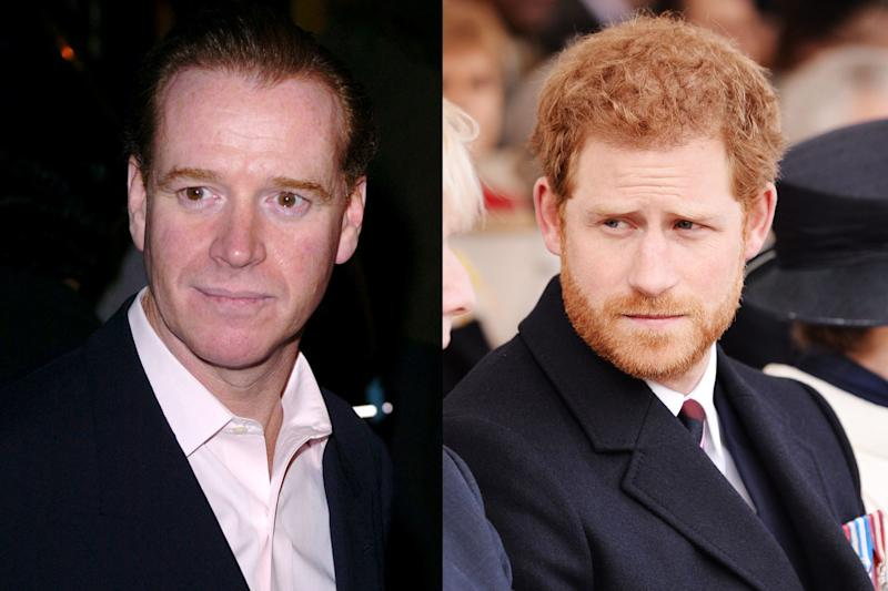 Princess Diana's Former Lover Maintains He Is Not Prince Harry's Father