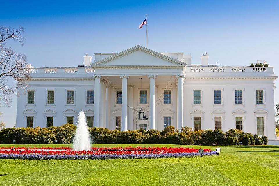 """<p>Many believe that the White House was painted white to cover burn marks from when the British set fire to the building in 1814 (during the War of 1812), but this is incorrect — the building was first painted white in 1798 using a lime-based whitewash. </p> <p>This was done """"to protect the exterior stone from moisture and cracking during winter freezes,"""" according to the Historical Association.</p>"""