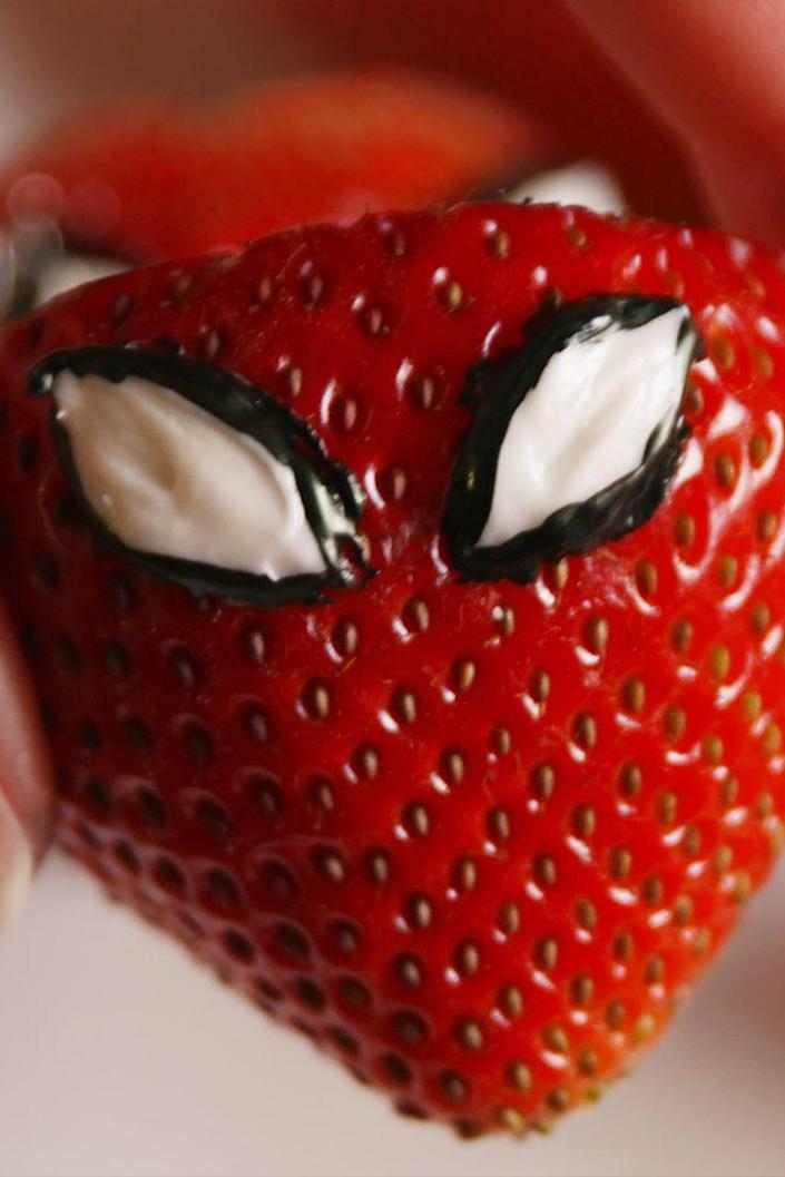 """<p>Peter Parker picked a peck of seriously bad@$$ treats.</p><p>Get the recipe from <a href=""""https://www.delish.com/cooking/recipe-ideas/recipes/a53987/spiderman-inspired-strawberries-recipe/"""" rel=""""nofollow noopener"""" target=""""_blank"""" data-ylk=""""slk:Delish"""" class=""""link rapid-noclick-resp"""">Delish</a>.</p>"""