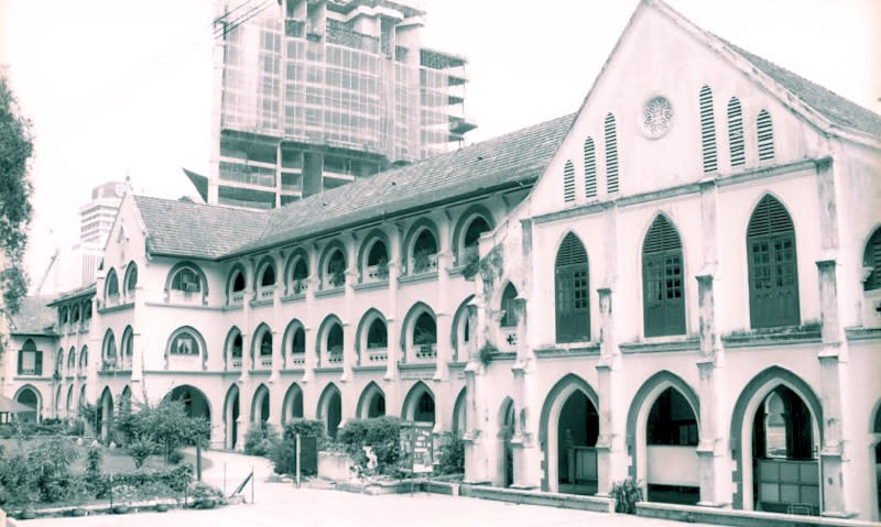 A photograph of SMK Convent Bukit Nanas from 1998. — Picture courtesy of Badan Warisan Malaysia
