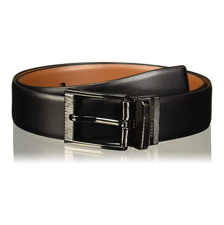 """<p><strong>Perry Ellis</strong></p><p>amazon.com</p><p><strong>$25.05</strong></p><p><a href=""""https://www.amazon.com/dp/B01CM6EAIC?tag=syn-yahoo-20&ascsubtag=%5Bartid%7C2139.g.36687307%5Bsrc%7Cyahoo-us"""" rel=""""nofollow noopener"""" target=""""_blank"""" data-ylk=""""slk:BUY IT HERE"""" class=""""link rapid-noclick-resp"""">BUY IT HERE</a></p><p><a href=""""https://www.menshealth.com/style/g36521961/amazon-mens-belts/"""" rel=""""nofollow noopener"""" target=""""_blank"""" data-ylk=""""slk:Belts"""" class=""""link rapid-noclick-resp"""">Belts</a> are one of those things that may not make it high on your list of clothing priorities. But once you add a new one to the mix, you'll wonder where it was all along. And this one is reversible, making it a staple more even more outfits.</p>"""