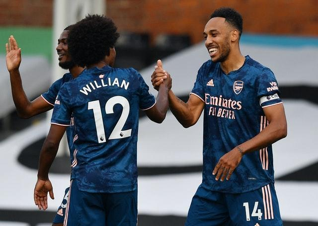 Willian enjoyed a fine Arsenal debut in their win at Fulham.